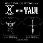 TAIJI監修による「X JAPAN with TAIJI Tシャツ」